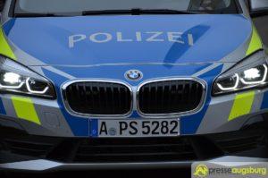 Raubversuch in Augsburg-Kriegshaber führt zu größerem Polizeieinsatz im Ankerzentrum Kobelweg