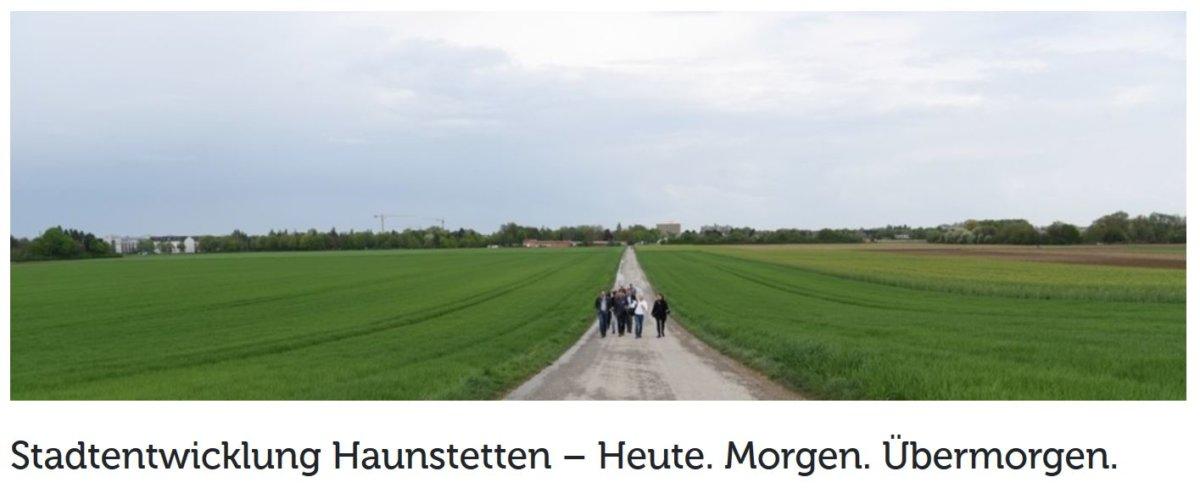Stadtentwicklung Haunstetten