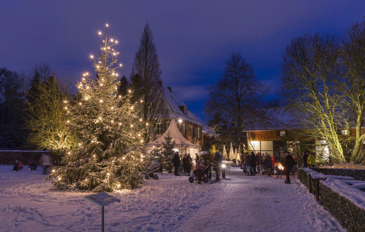 18 12 04 Adventsmarkt Foto Botanischer Garten Stadt Augsburg