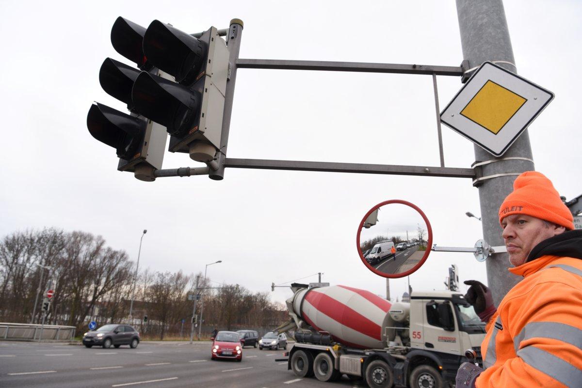 18 12 20 Fahrradstadt Stadt Testet Trixi Spiegel Foto Ruth Plössel Stadt Augsburg 19