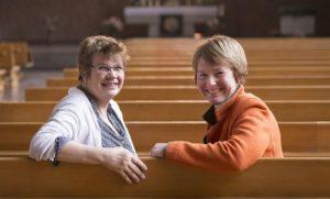 Beste Freundinnen werden Pfarrerinnen in Augsburg-Pfersee