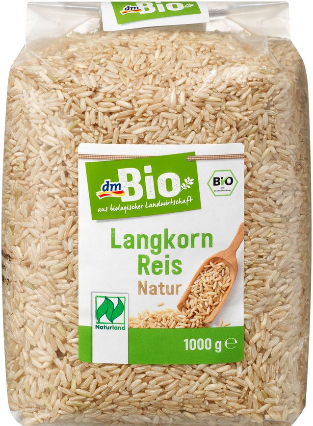 Lebensmittelrueckruf Dmbio Langkorn Reis Natur