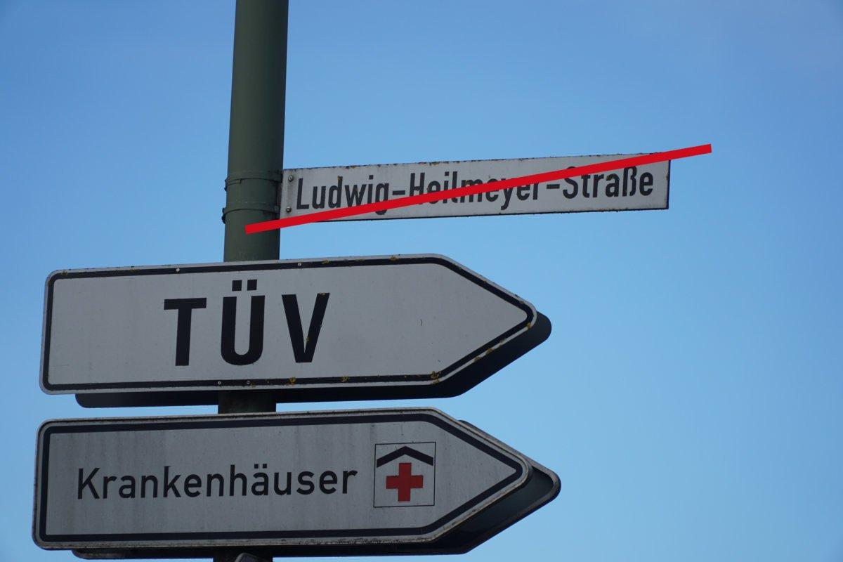 2019 02 19 Heilmeyer Umbenennung Straßenschild