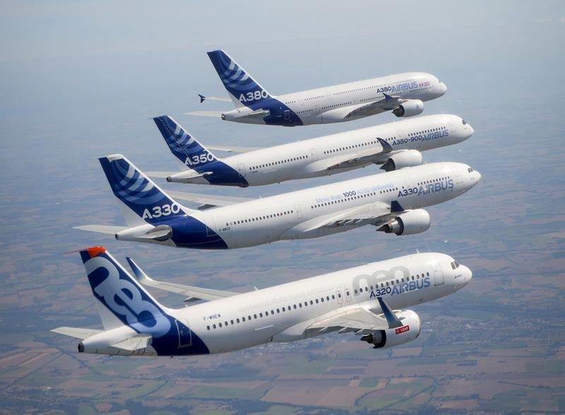 Airbus Family Formation Flight1