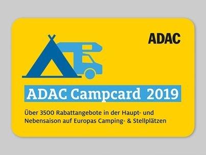 Adac Campcard Cover 2019