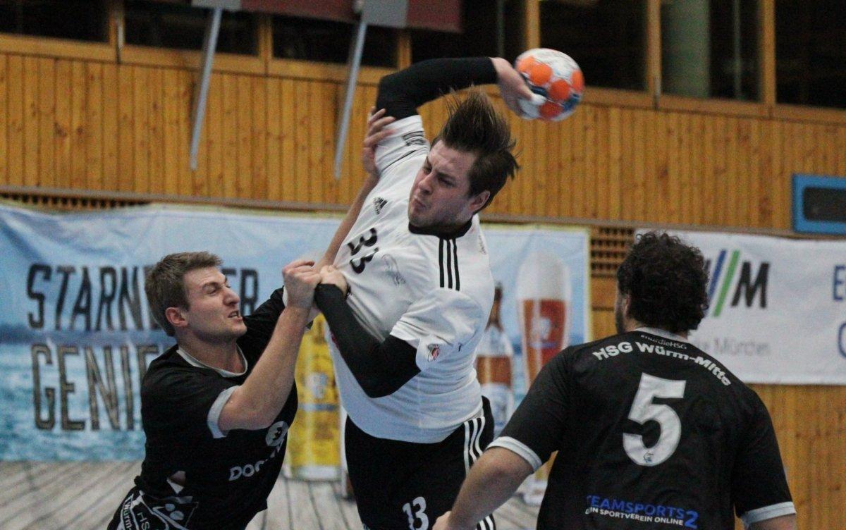 tsv3 Zu unkonzentriert | TSV Friedberg verliert bei Schlusslicht Würm-Mitte Aichach Friedberg Bildergalerien Handball News News Sport HSG Würm-Mitte TSV Friedberg Handball |Presse Augsburg