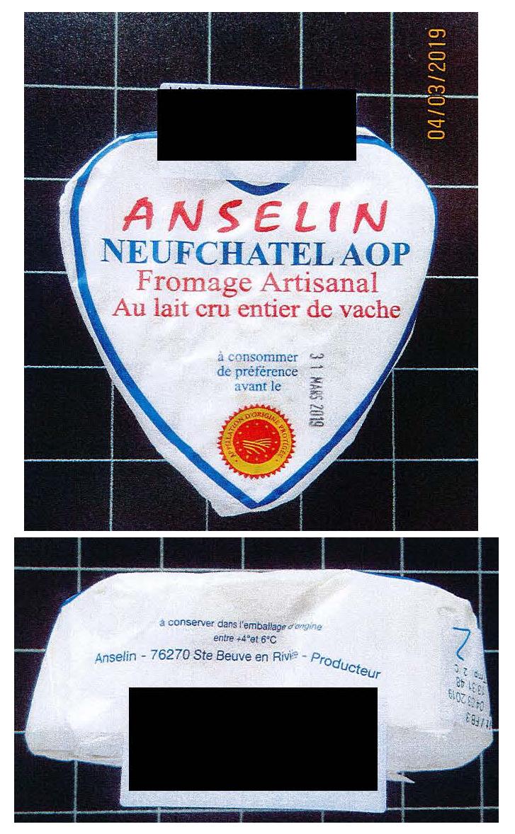 Anselin Neufchatel Aop Franzoesischer Weichkaese Mit Rohmilch