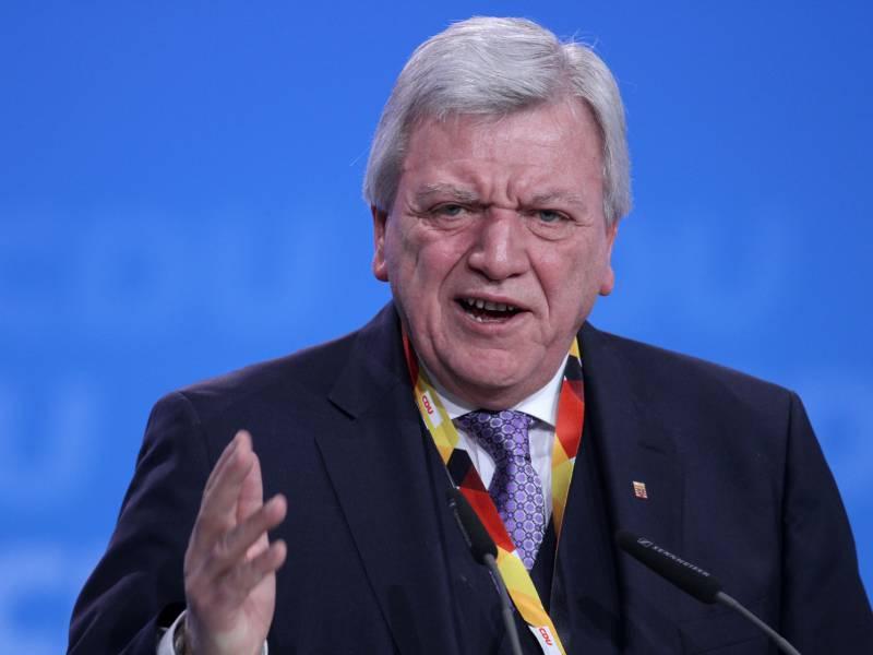 Bankenfusion Bouffier Sieht Keine Aktive Rolle Der Bundesregierung