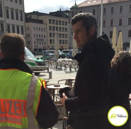 Evakuierung Drohung Augsburg3