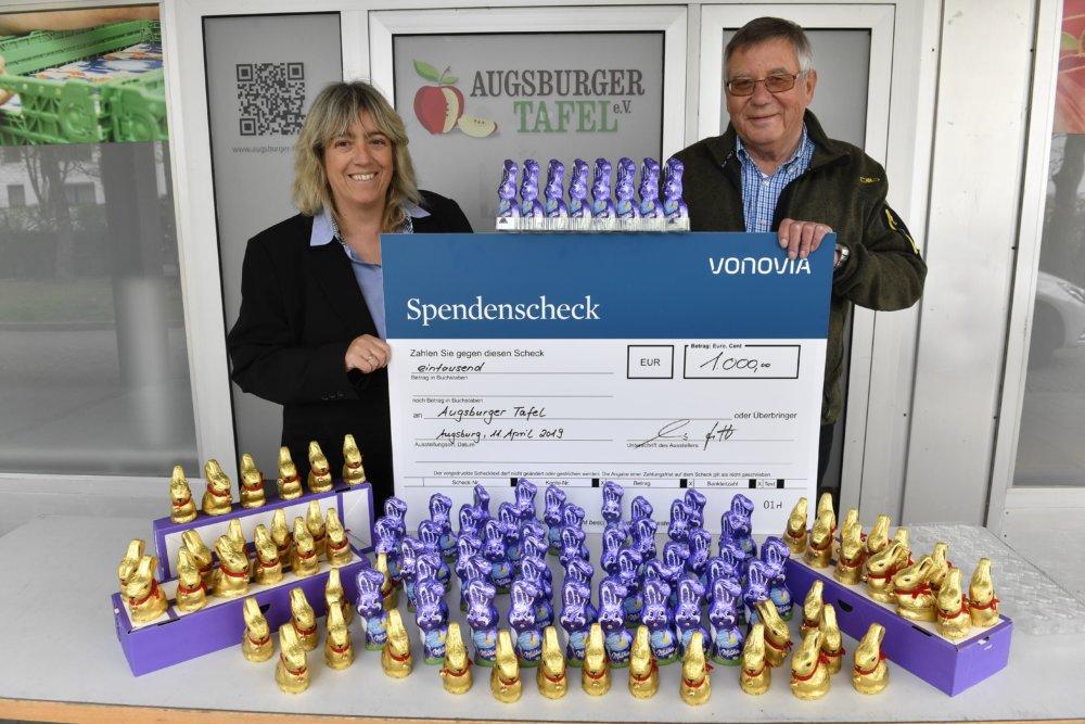 VonoviaTafelAugsburg91 Gelungene Osterüberraschung für die Augsburger Tafel Augsburg Stadt News Newsletter |Presse Augsburg