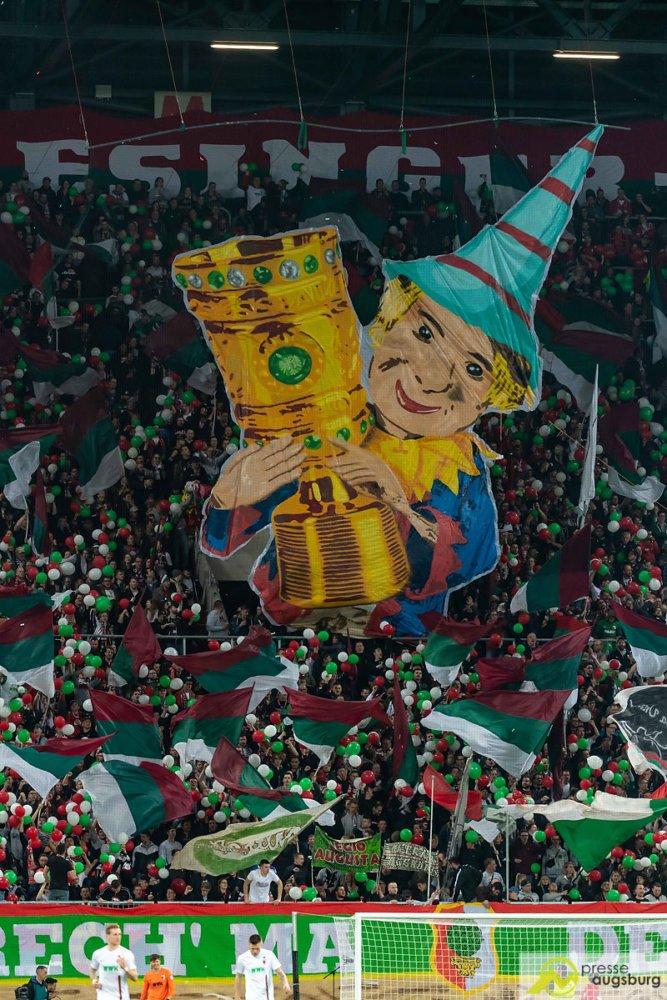 fca_rbl001 Der FC Augsburg verliert nach 120 packenden Pokal-Minuten mit 1:2 gegen RB Leipzig FC Augsburg News Sport #fcarbl DFB DFB Pokal FC Augsburg Puppenkiste Rasenballsport RB Leipzig viertelfinale |Presse Augsburg