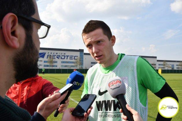 fca_training_004-630x420 Bildergalerie |Der FC Augsburg macht sich fit für Stuttgart Augsburg Stadt Bildergalerien FC Augsburg News Sport |Presse Augsburg