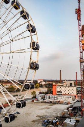 unnamed2-279x420 Münchens neues Wahrzeichen: Das Hi-Sky-Riesenrad im Werksviertel-Mitte Bayern Bildergalerien Überregionale Schlagzeilen Vermischtes München Neu Riesenrad |Presse Augsburg