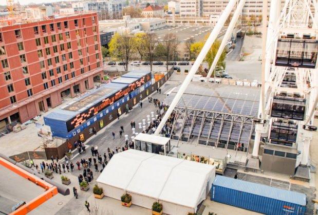 unnamed4-619x420 Münchens neues Wahrzeichen: Das Hi-Sky-Riesenrad im Werksviertel-Mitte Bayern Bildergalerien Überregionale Schlagzeilen Vermischtes München Neu Riesenrad |Presse Augsburg