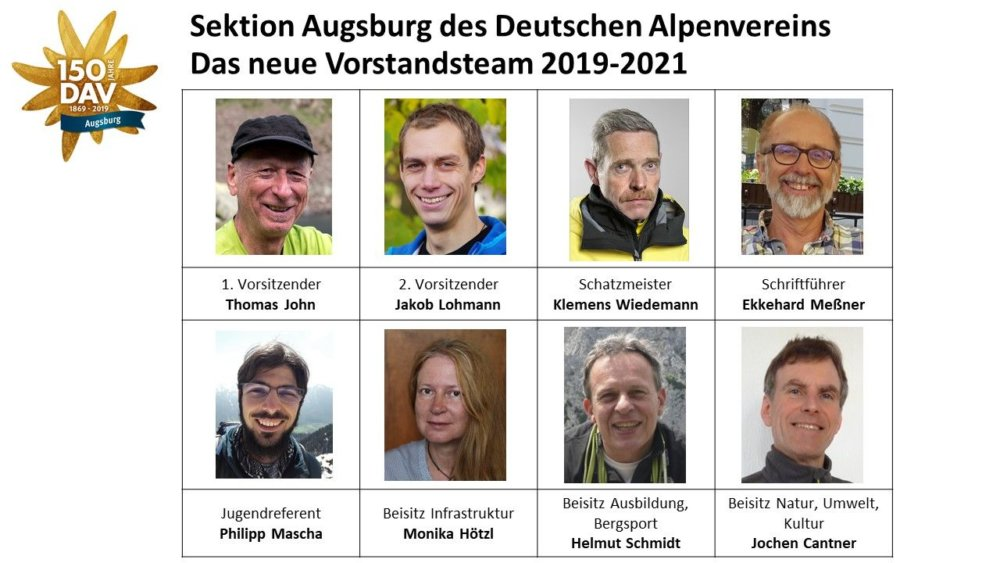 19 05 08 Presseinfo Dav Augsburg Mitgliederversammlung 2019 Neuer Vorstand