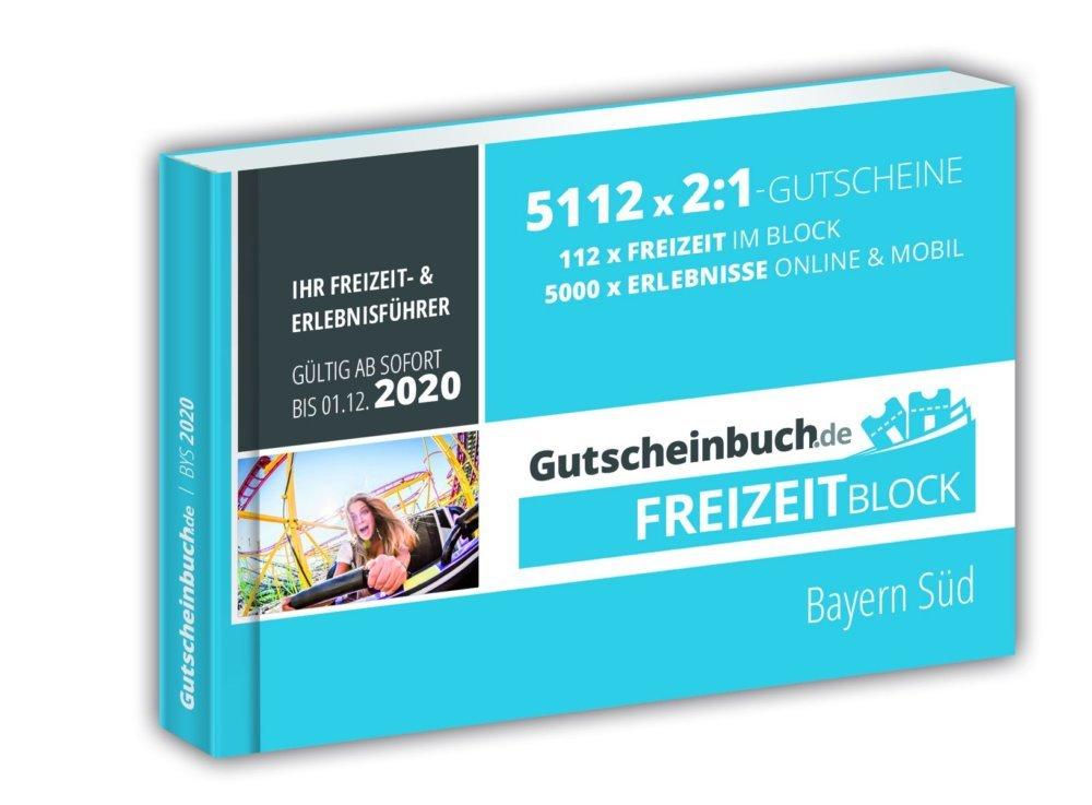 Bayern Sued Freizeitblock Pocketformat 3D 2019 20 Druck X 1