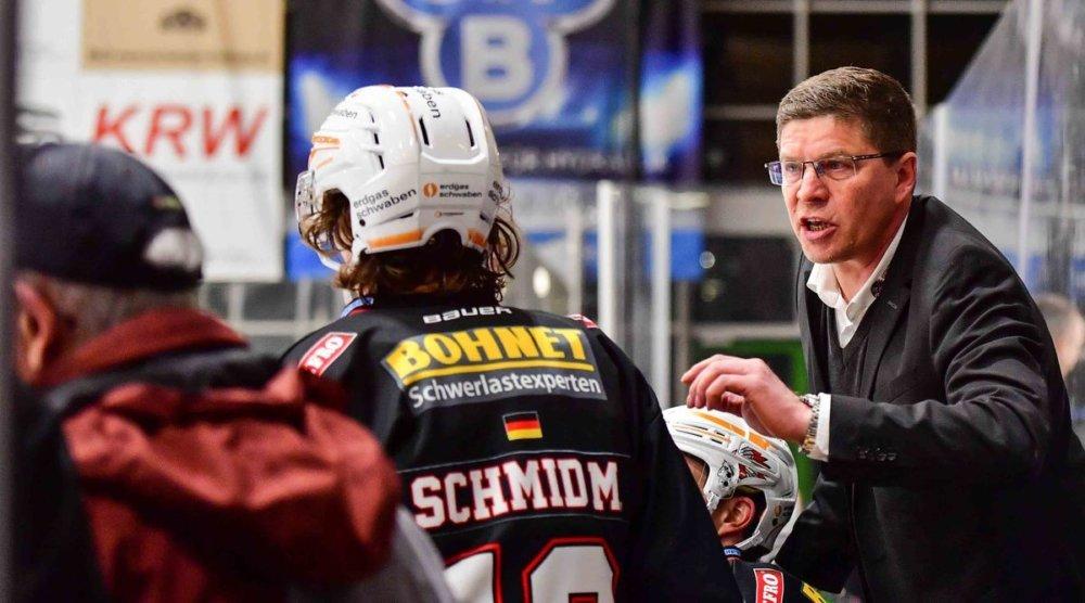 waßmiller Waßmiller bleibt bei Trainer bei den Memminingen Indians mehr Eishockey Memmingen Sport ECDC Memmingen Indians |Presse Augsburg