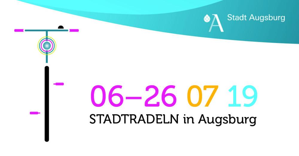 19_06_25_Stadtradeln-headers-v01 10 Jahre Stadtradeln in Augsburg - Vom 6. bis 26. Juli 2019 zählt wieder jeder Kilometer Augsburg Stadt Freizeit News Newsletter Augsburg CO2 Fahrrad Fahrradstadt Stadtradeln |Presse Augsburg