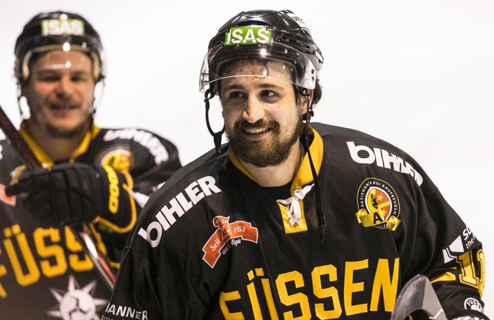 Florian-Simon Wichtige Personalie | Routinier Florian Simon geht mit dem EV Füssen auch in die Oberliga mehr Eishockey Ostallgäu Sport EV Füssen |Presse Augsburg