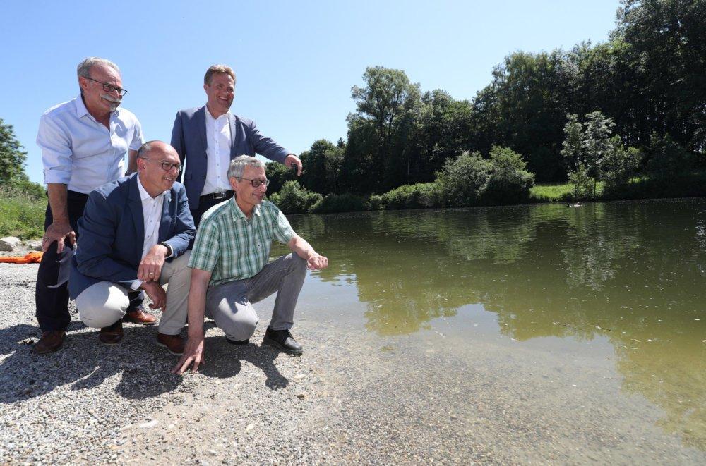 Uferaufweitung Großaitingen Pressefoto 1