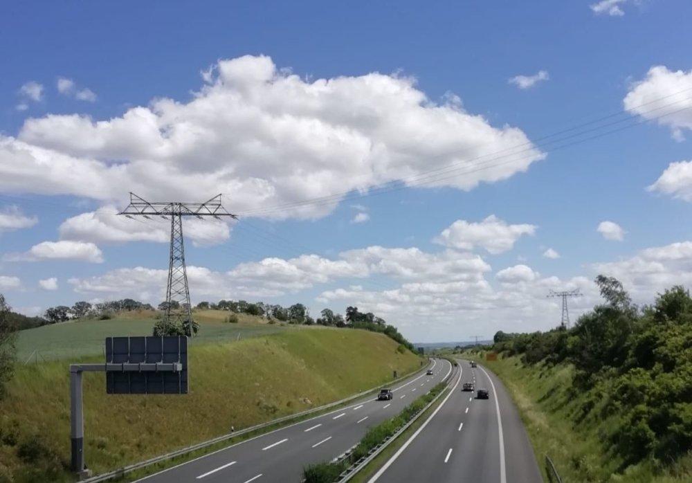 Autobahn A8 Straße