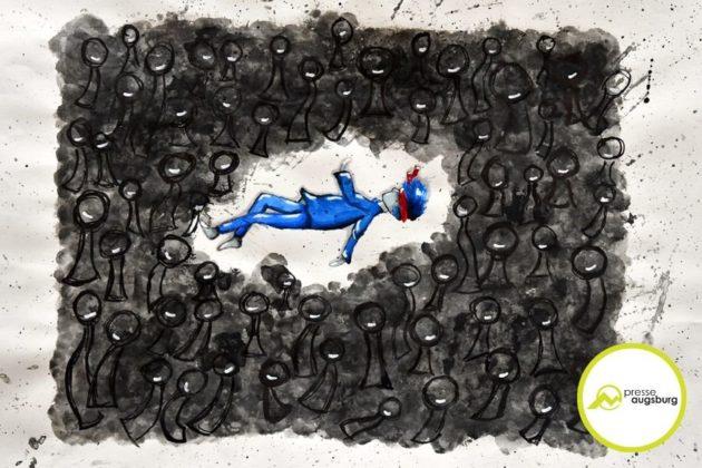 2019-07-12-Friedensbild-–-29.jpg-630x420 Bin ich frei oder doch eine Marionette? - Augsburger Friedensbild 2019 philosophiert über Freiheit Augsburg Stadt Bildergalerien Kunst & Kultur News Newsletter Anna Barbara von Stettenschen Instituts Augsburger Friedensbild Augsburger Hohen Friedensfest Stetten  Presse Augsburg