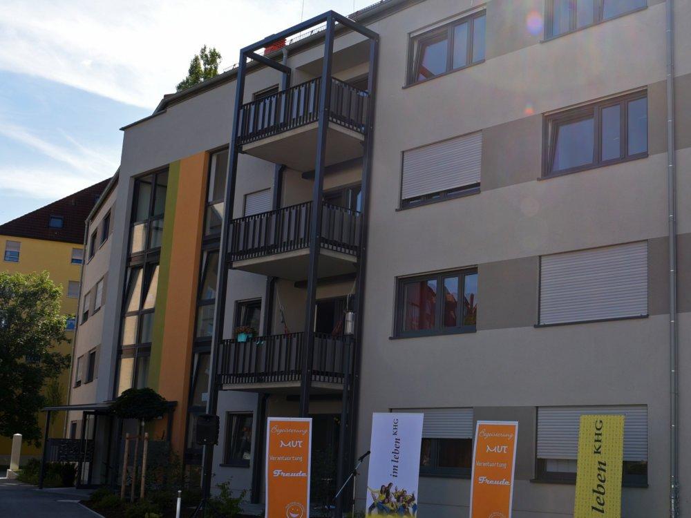 Der Neue Anbau Bietet Wohnraum Für 54 Studierende Foto Simone Zwikirsch Pba