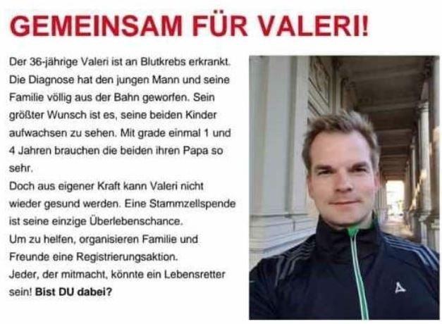 Unbenannt-22 Zweifacher Vater an Blutkrebs erkrankt - Typisierungsaktion in Augsburg-Göggingen Augsburg DKMS Göggingen Typisierungsaktion |Presse Augsburg