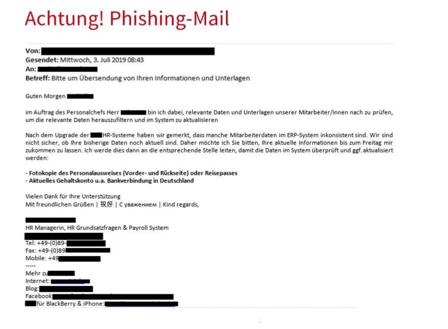 Unbenannt-37 Landeskriminalamt warnt vor betrügerischen Phishing E-Mails aus der Buchhaltung Bayern Vermischtes Bayerisches Landeskriminalamt Betrüger BLKA Buchhaultung E-Mail Phishing |Presse Augsburg
