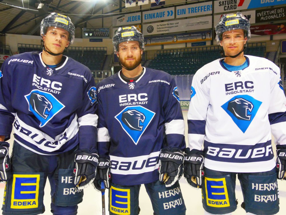 P1060367_bear ERC Ingolstadt und ESV Kaufbeuren setzen ihre Kooperation fort Kaufbeuren mehr Eishockey News Sport DEL DEL2 ERC Ingolstadt ERCI ESV Kaufbeuren ESVK |Presse Augsburg