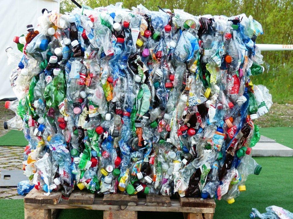 Müll Plastik Flasche