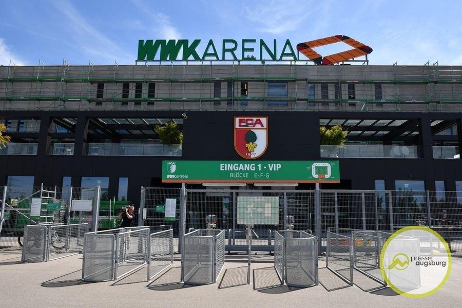 wwk-arena-fca2 FC Augsburg baut digitale Services für Fans und Besucher der WWK Arena aus FC Augsburg News Sport Bluecode digitale Tickets FC Augsburg FCA FCA-Card Wallets WWK Arena |Presse Augsburg