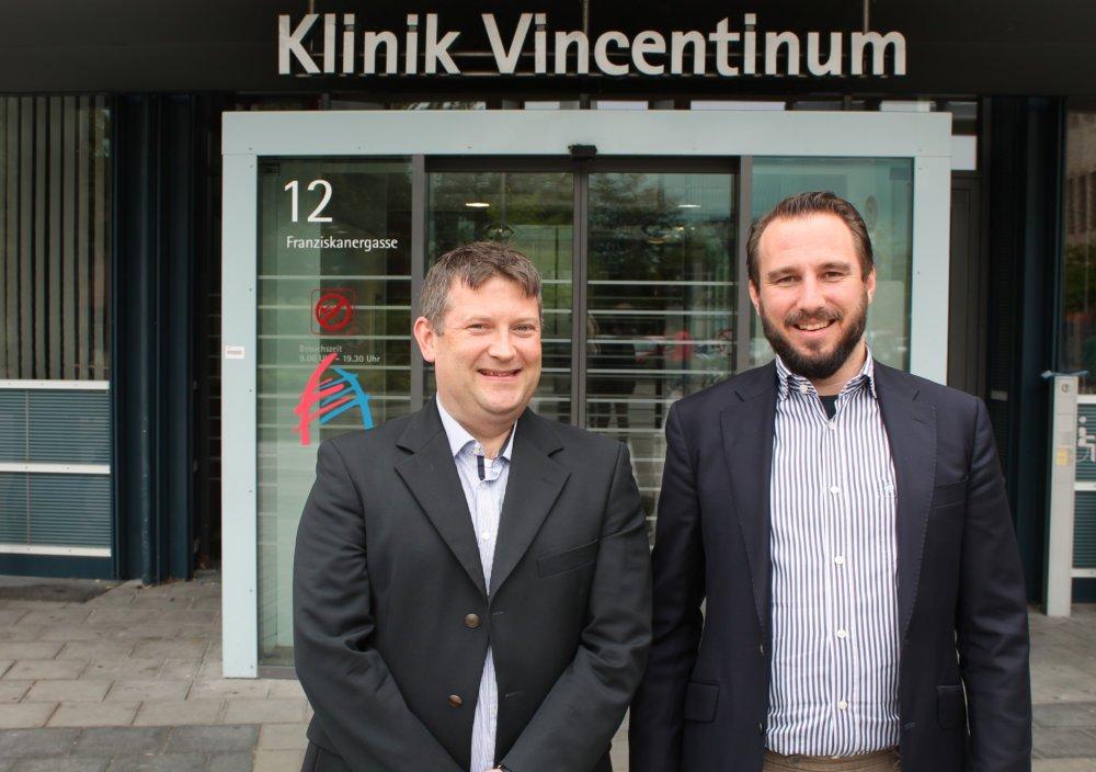 Tobias Meinhold Und Geschäftsführer Michael Kneis