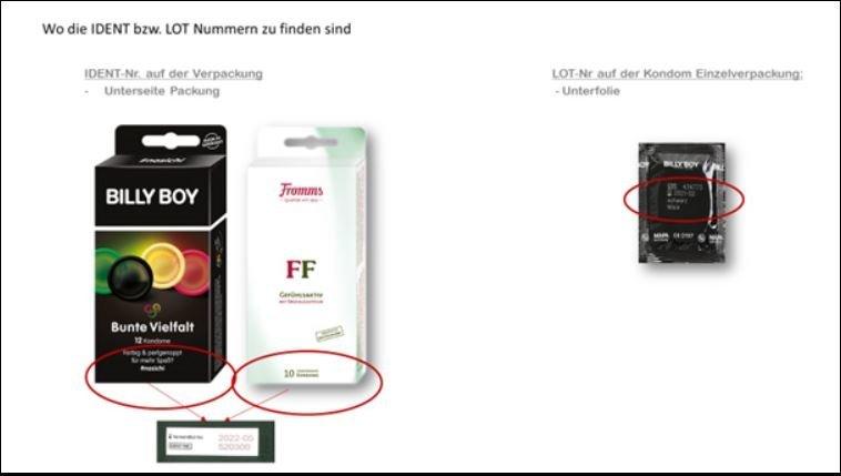 Unbenannt-9 Billy Boy und Fromms-Kondome zurückgerufen - Beeinträchtigung der Schutzwirkung möglich Produktwarnungen Überregionale Schlagzeilen Billy Boy Fromms Kondome Rückruf |Presse Augsburg