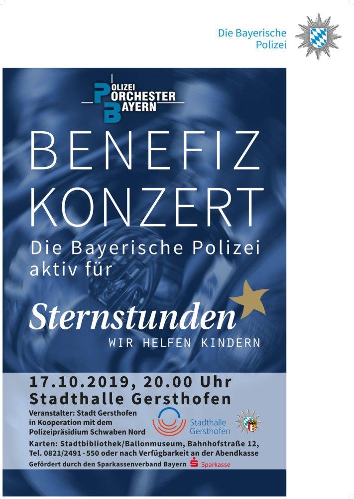 benefizkonzert-gersthofen-plakat Benefizkonzert des Bayerischen Polizeiorchesters |Presse Augsburg