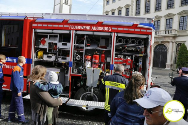 Feuerwehr Augsburg 100