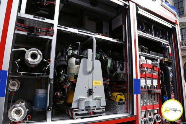 Feuerwehr Augsburg 112