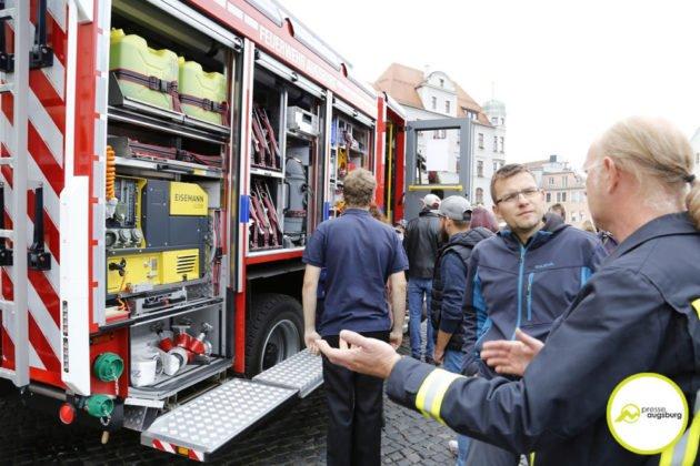 Feuerwehr Augsburg 118