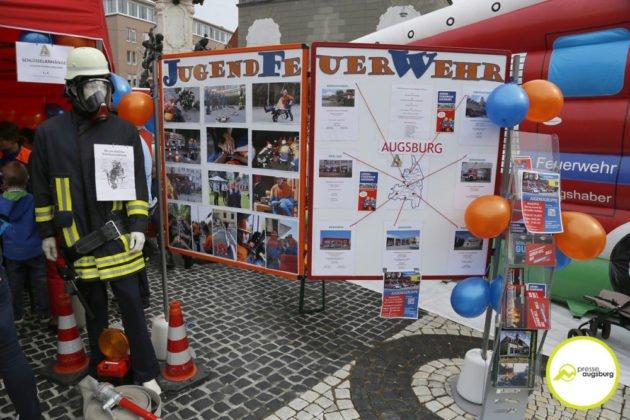 Feuerwehr Augsburg 150