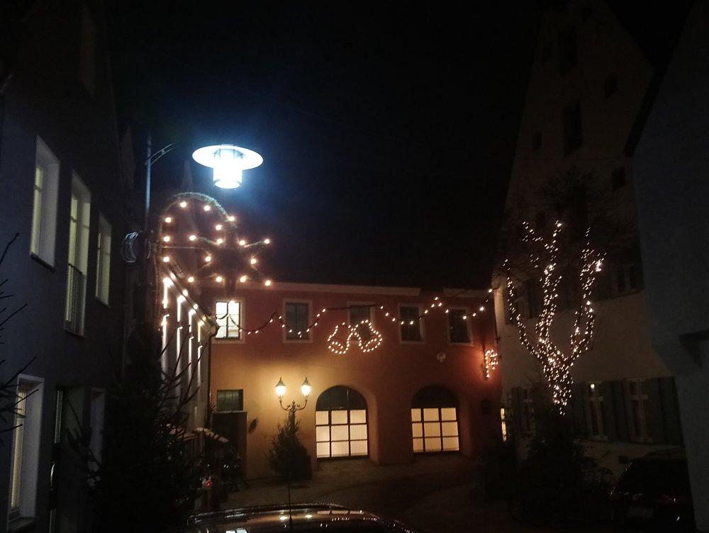 102819 Weihnachtsbeleuchtung Sonnenstraße Foto Christiane Kickum