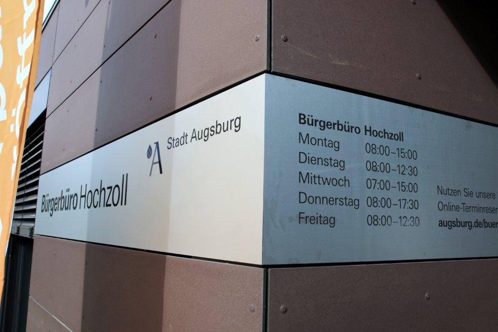 bürgeramt augsburg öffnungszeiten