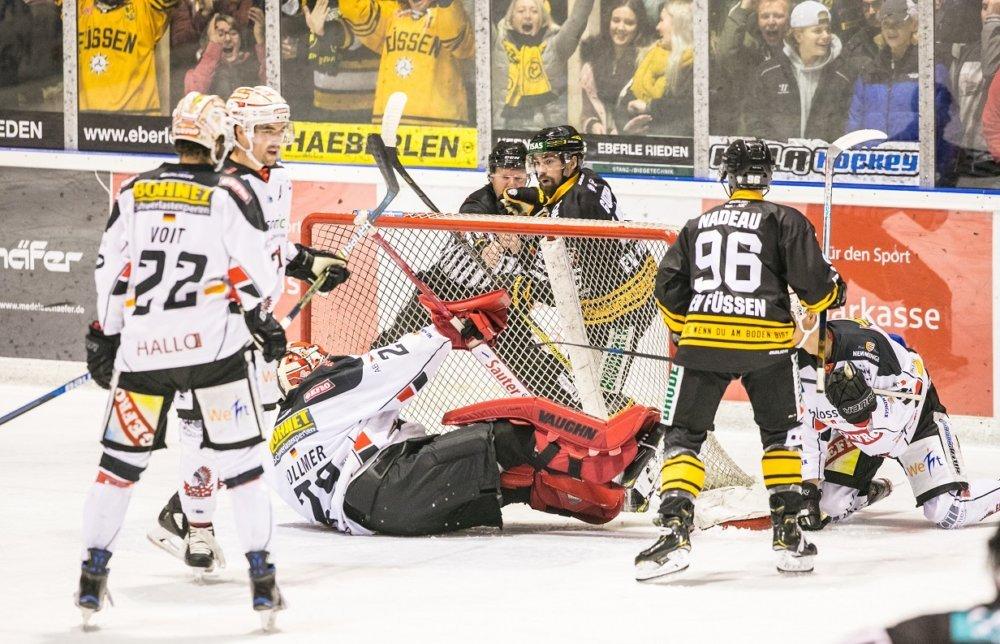 EVF-ECDC Ein enges Allgäu-Derby - Füssen bezwingt die Memmingen Indians mehr Eishockey Memmingen News Ostallgäu Sport ECDC Memmingen Indians EV Füssen |Presse Augsburg