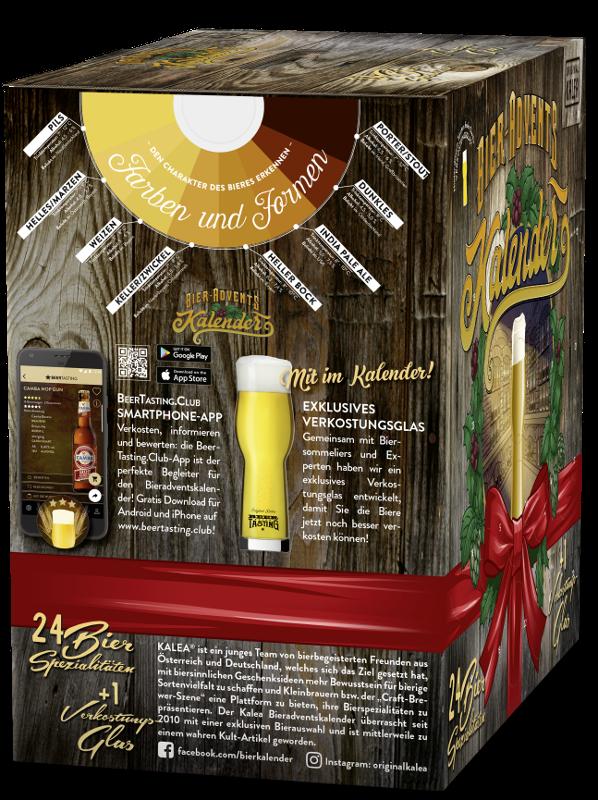 Kalea-Bierkalender-Edition-DE-3b-Seitenansicht KALEA Gewinnspiel   Deutschlands bierigster Adventskalender Freizeit Gewinnspiele Newsletter Überregionale Schlagzeilen Vermischtes Adventskalender Beer Bier Bieradventskalender Brauerei KALEA  Presse Augsburg