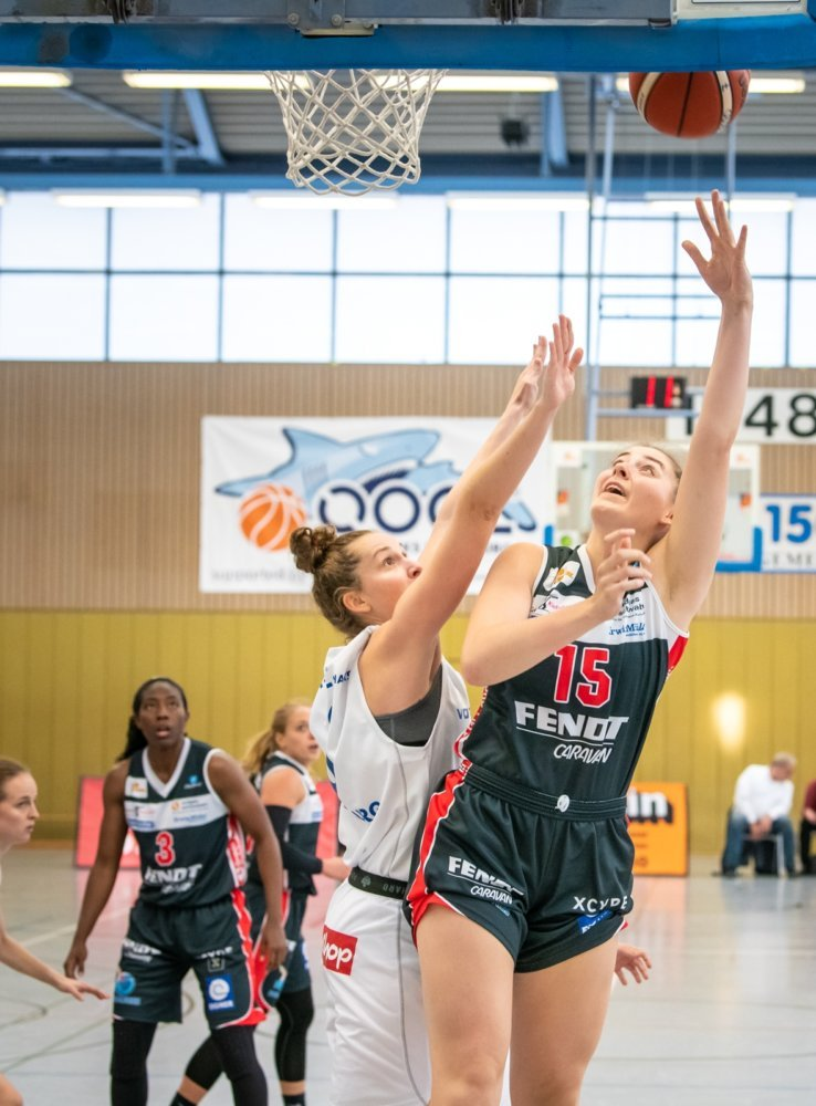 Luisa-hookshot Nördlingen Angels wollen im zweiten Heimspiel den ersten Sieg vor eigenem Publikum Basketball News Donau-Ries News Sport Angels Donau-Ries Angels Nördlingen USC Freiburg |Presse Augsburg
