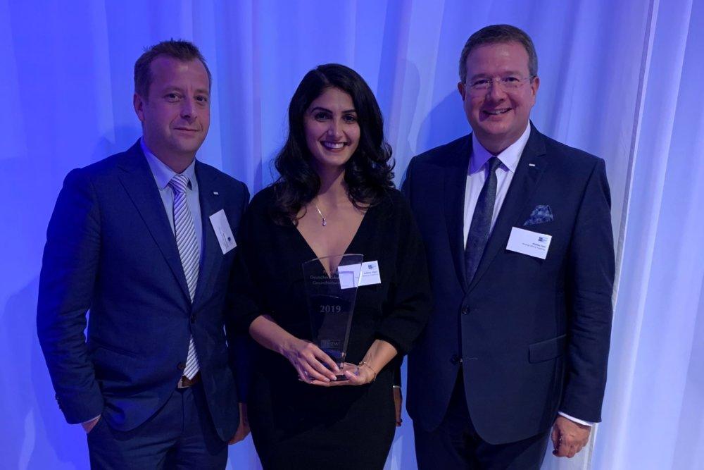 Pressebild Hessing Stiftung Gewinnt Zukunftspreis 2019