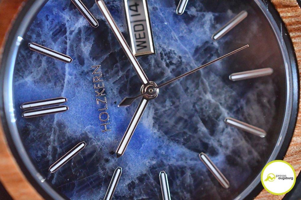 Armbanduhr aus Holz und Stein | Die Holzkern