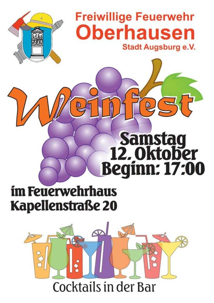 image001 Weinfest der Freiwilligen Feuerwehr Oberhausen Freiwillige Feuerwehr Oberhausen Weinfest |Presse Augsburg