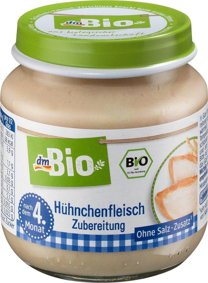 Verbraucherinformation Dm Ruft Vorsorglich Den Artikel Dmbio H Hnchenfleisch Zubereitung Nach Dem 4