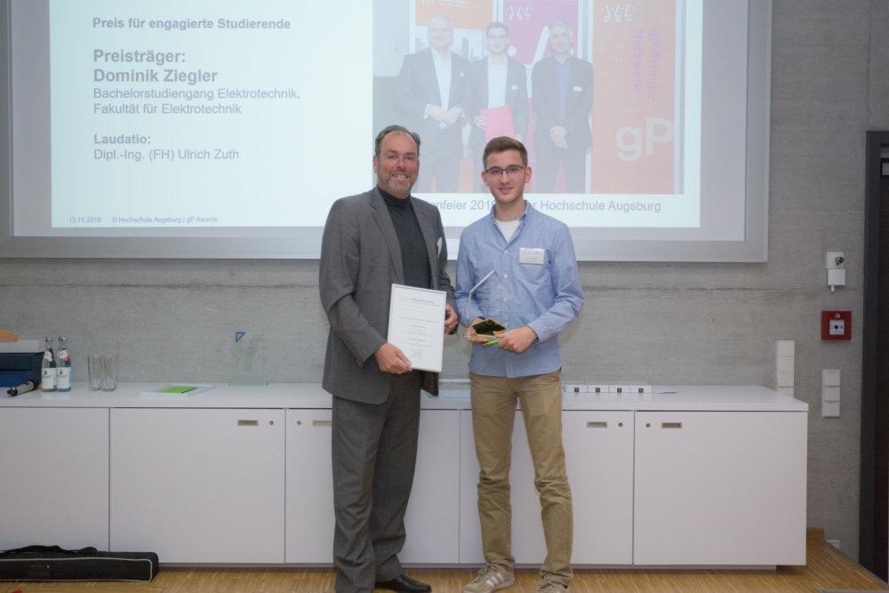 07_HSA_gP-Awards_2019_Foerderverein Hochschule Augsburg vergibt Preise an Studierende und Lehrende Augsburg Stadt Campus News gP Awards Hochschule Augsburg Technologiezentrum Augsburg |Presse Augsburg