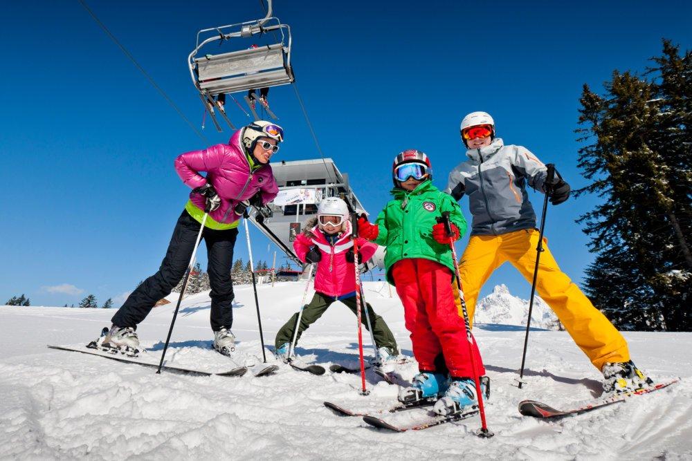 17F Skifahren Foto Ikarus Fvv Filzmoos